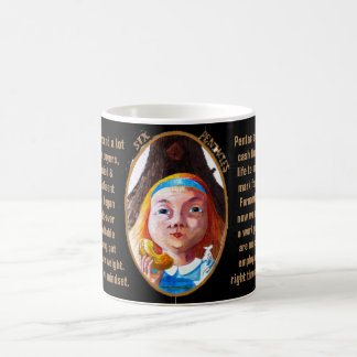 06. Six of Pentacles - Alice tarot Coffee Mug