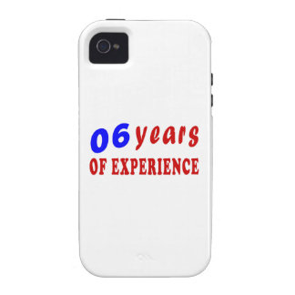 06 years of experience vibe iPhone 4 cases