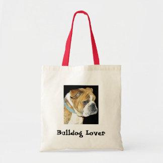 0712, Bulldog Lover Bags