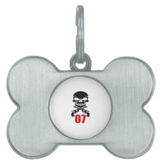 07 Birthday Designs Pet ID Tag