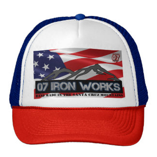 "07 Iron Works ""Old Glory"" Gregg Racing Cap"