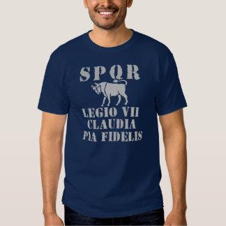 07 Julius Caesar's 7th Loyal Roman Legion T-shirt