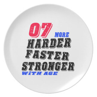 07 More Harder Faster Stronger With Age Plate