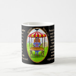 07. Seven of Pentacles - Alice tarot Coffee Mug