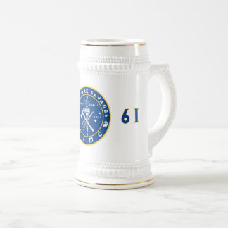 0861 NY SAVAGES BEER STEIN