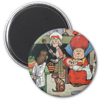 08 - Alice in Kitchen Magnet