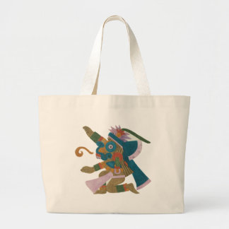 08.Tlaloc - Mayan /Aztec Creator good Canvas Bag