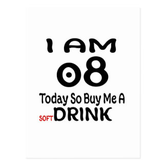 08 Today So Buy Me A Drink Postcard