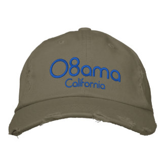 '08bama, California Embroidered Hat