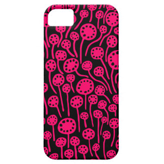 090512 Neon Red on Black iPhone 5 Covers