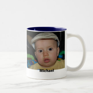 0986, Michael Two-Tone Mug