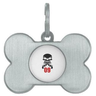 09 Birthday Designs Pet ID Tag