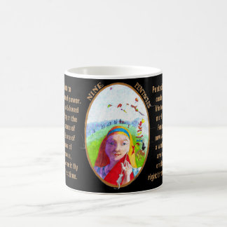 09. Nine of Pentacles - Alice tarot Coffee Mug