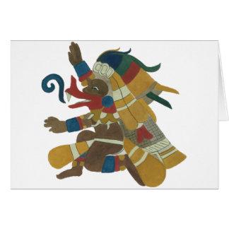 09.Quetzalcoatl - Mayan/Aztec Creator good Card