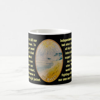 09. The Hermit - Sailor tarot Coffee Mug