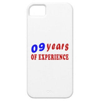 09 years of experience iPhone 5 cover