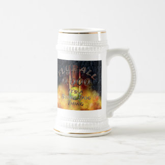 0.000 Flyball Flamz: It's A Start Dog Thing! Beer Stein
