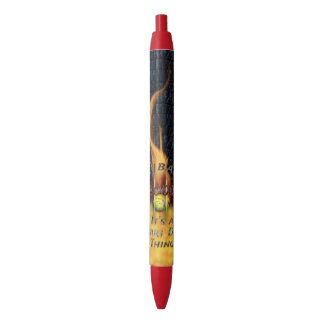 0.000 Flyball Flamz: It's A Start Dog Thing! Black Ink Pen