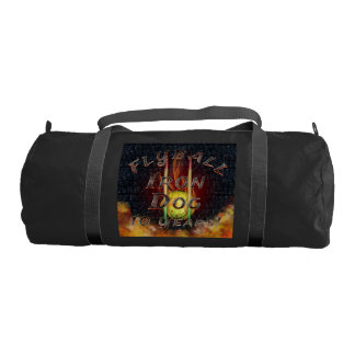 0.000 Flyball Flamz: It's A Start Dog Thing! Gym Bag