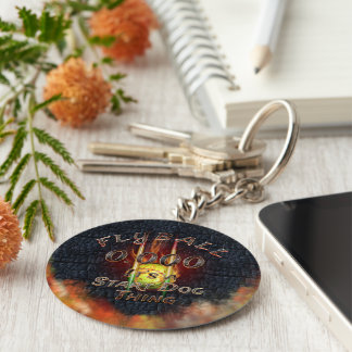 0.000 Flyball Flamz: It's A Start Dog Thing! Key Ring