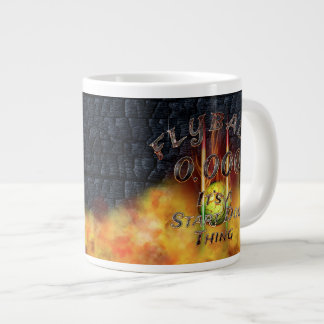 0.000 Flyball Flamz: It's A Start Dog Thing! Large Coffee Mug