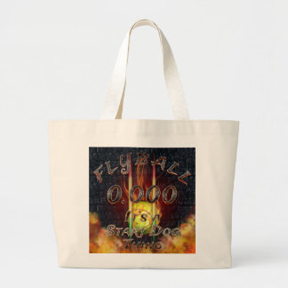0.000 Flyball Flamz: It's A Start Dog Thing! Large Tote Bag