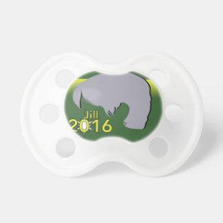 0-6 months BooginHead® Pacifier Jill 2016 Graphic