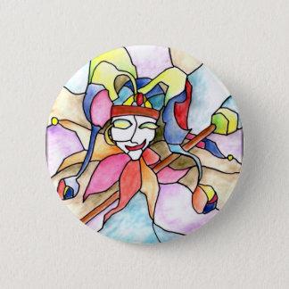 0 - Jester 6 Cm Round Badge