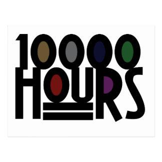 10000 HOURS POSTCARD