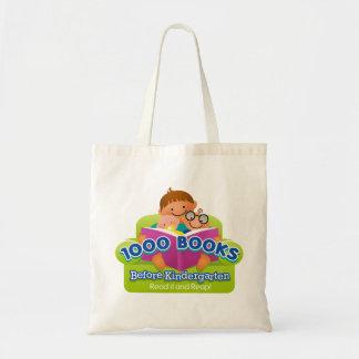 1000 Books Before Kindergarten Bag