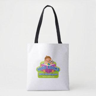 1000 Books Before Kindergarten Challenge bag