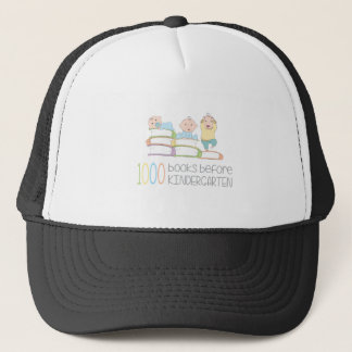 1000 Books Before Kindergarten Trucker Hat