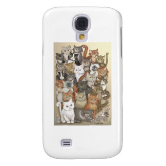 1000 cats galaxy s4 covers