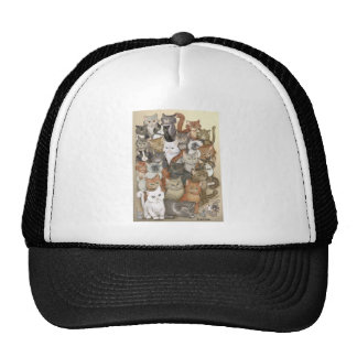 1000 cats trucker hats