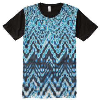 1000 Islands (blue) All-Over Print T-Shirt