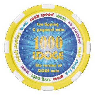 1000 LDOGE Poker Chip
