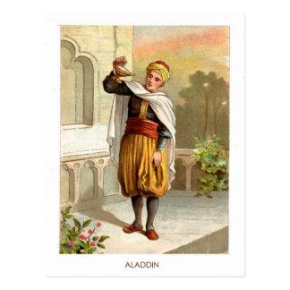 1001 Arabian Nights: Aladdin Postcard
