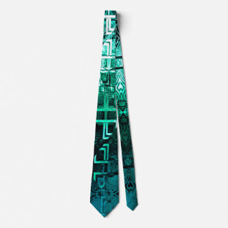 1001 Lights (emerald-jade) Tie
