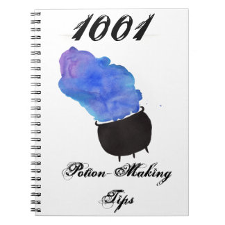 1001 Potion Making Tips Notebook