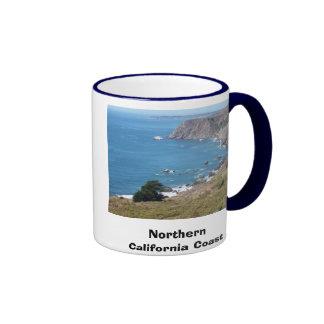 100_0334, Northern California Coast Ringer Coffee Mug