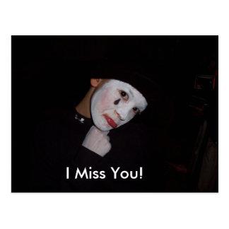 100_0924, I Miss You! Postcard