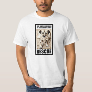 100+ Abandoned Dogs of Everglades Florida Rescue T-Shirt