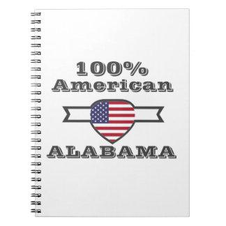 100% American, Alabama Notebook