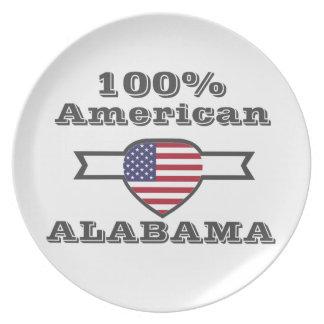 100% American, Alabama Plate