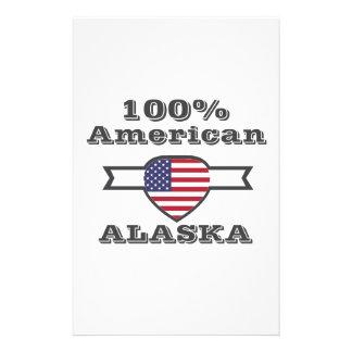 100% American, Alaska Stationery