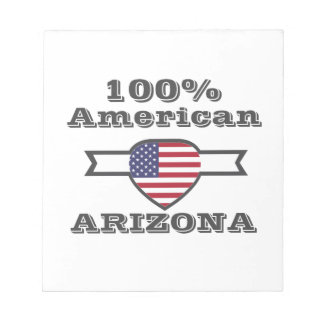 100% American, Arizona Notepad