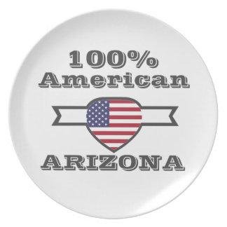 100% American, Arizona Party Plates
