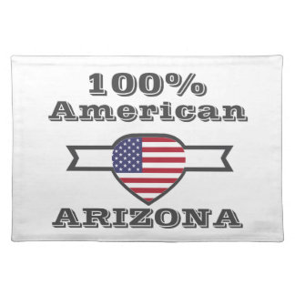 100% American, Arizona Placemat