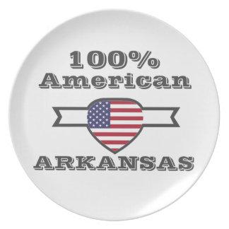 100% American, Arkansas Dinner Plates