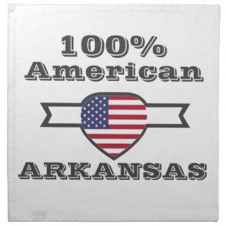100% American, Arkansas Napkin